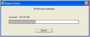 Proses cek error data file MYOB
