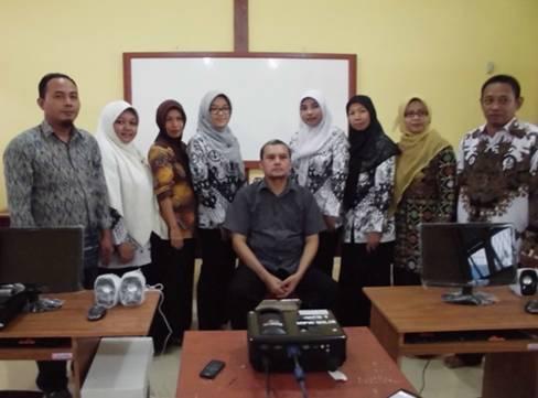 Training MYOB bagi para guru SMK di Kab. Mempawah, Kalimantan Barat