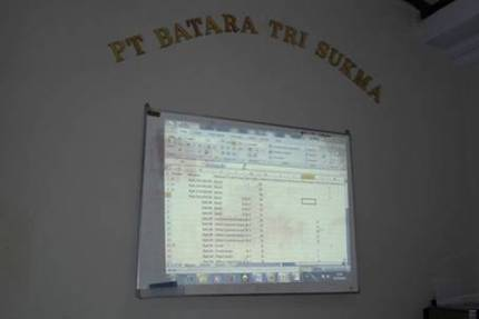 Training MYOB di PT Batara Tri Sukma - Semarang