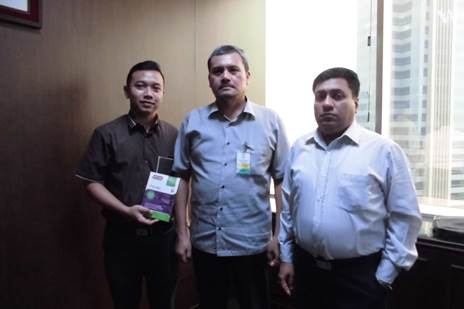 With Indian Expatriate, Mr Gupta Pramod and Mr Kukuh Juang Pangestu from PT Indorama
