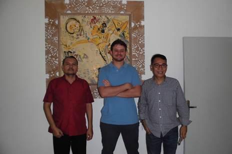 With Mr Johan & Danial from PT Strawberindo Lestari - Jl. Benda No. 4 Kemang, Jakarta Selatan