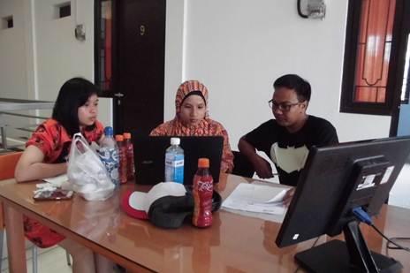 MYOB Trainees dari PT Tirta Wahana Papua, Jl. Yahim, Distrik Sentani, Dobonsolo, Papua