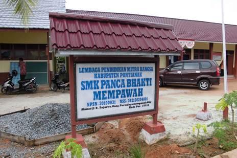 Training MYOB untuk Guru di SMK Panca Bhakti - Kab. Mempawah, Kalimantan Barat