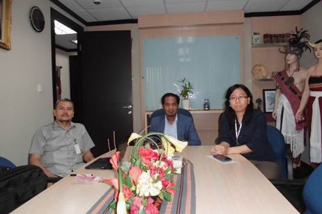 With Mr Markus at Embassy of Republic Democratic of Timor Leste, Mayapada Tower 1 19th Floor, Jl. Jend. Sudirman Kav. 28, Jakarta Selatan