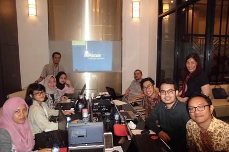 Training MYOB at PT Total Mandiri Selaras (Logistics Company), Jl. Bukit Duri Tanjakan No. 79, Tebet, Jakarta Selatan