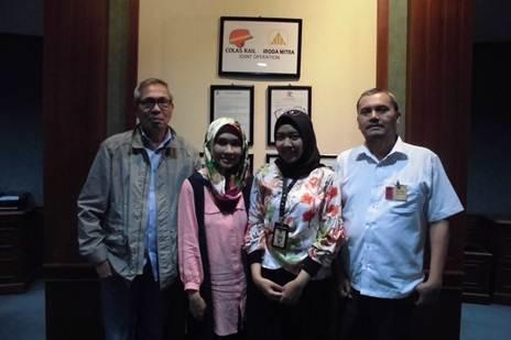 Colas Rail-Iroda Mitra, Menara Sudirman Lt 11, JL. Jenderal Sudirman Kav.60, Jakarta