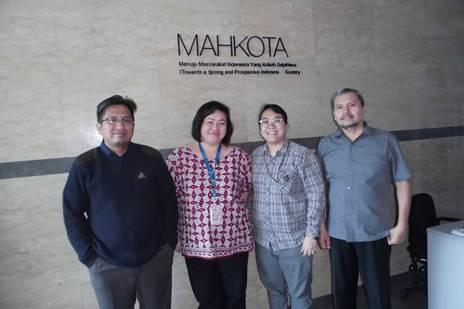Mahkota (Australian International Development), Grand Kebon Sirih No. 35, Level 8. Jakarta Pusat